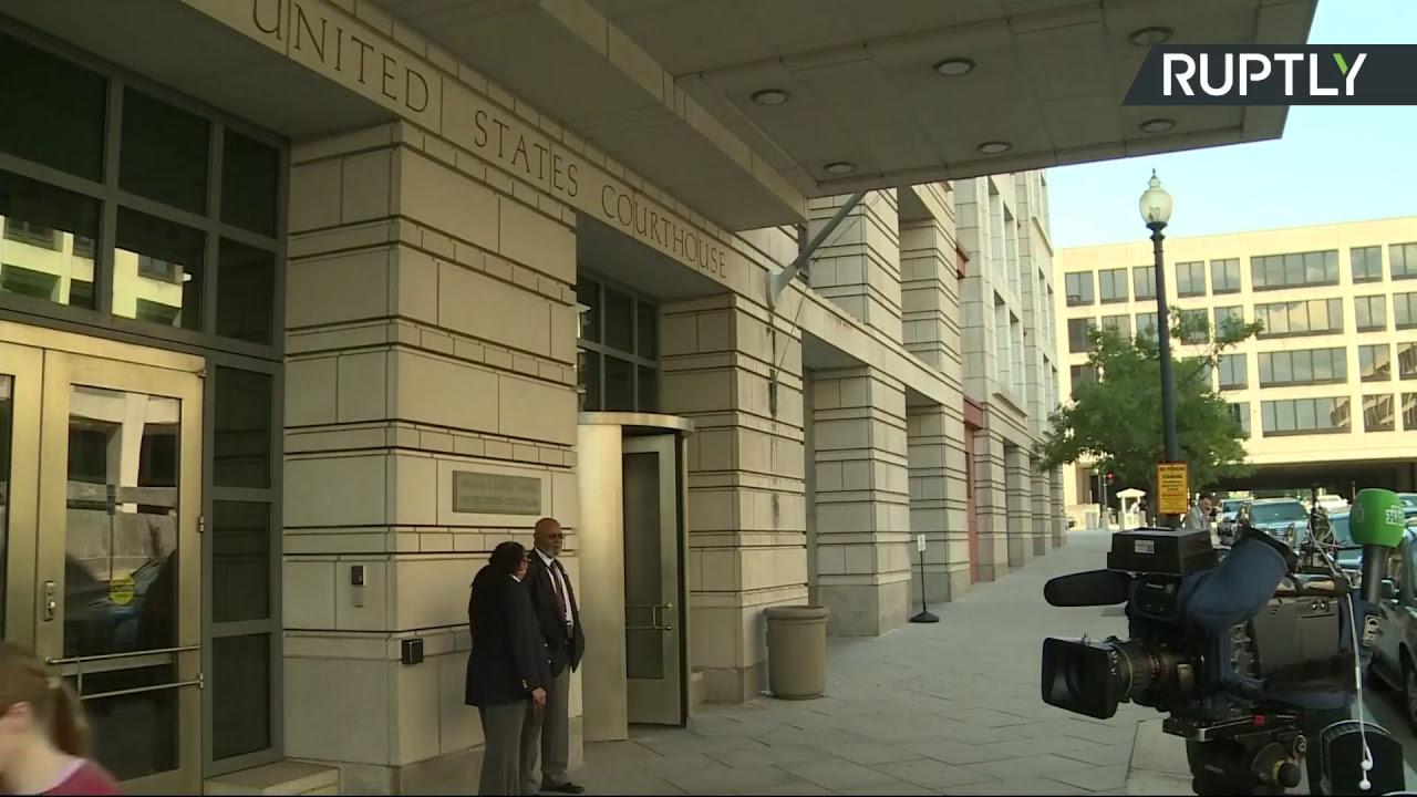 Трансляция от здания суда в Вашингтоне, где проходит слушание по делу россиянки Бутиной