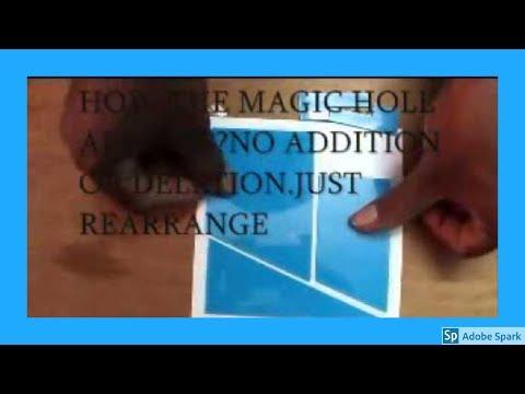 ONLINE MAGIC TRICKS TAMIL I ONLINE TAMIL MAGIC #309 I SQUARE PUZZLE 1