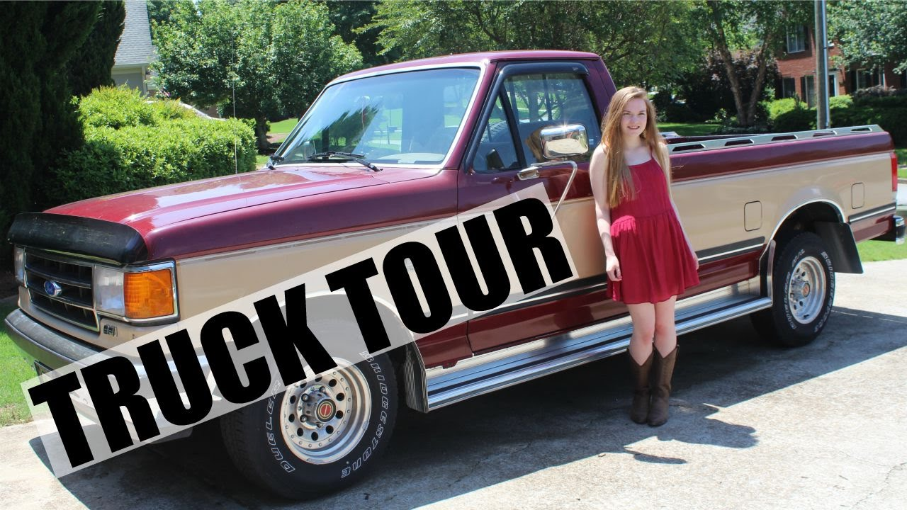 car tour 39 91 ford f150 pickup truck youtube. Black Bedroom Furniture Sets. Home Design Ideas
