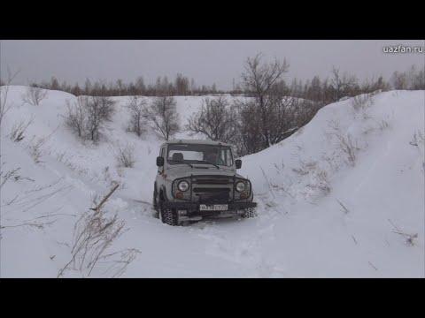 Тест резины Forward Safari 500. Особенности вождения по зимнему бездорожью.
