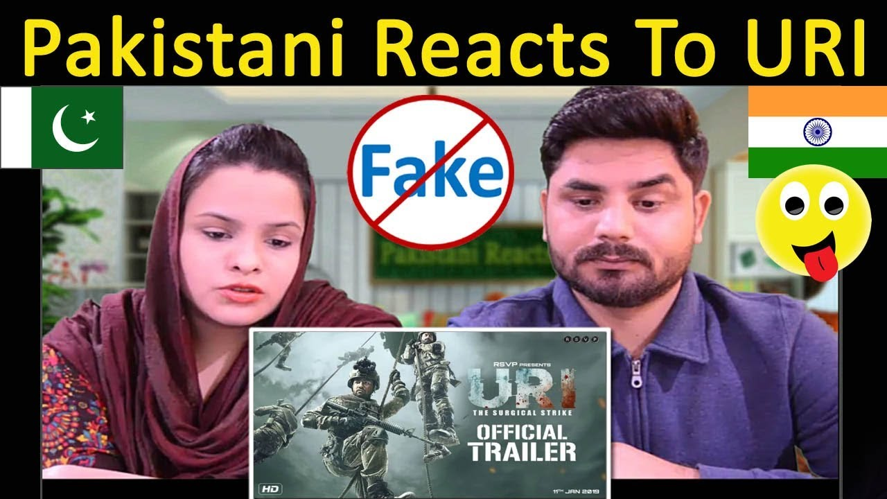 Pakistani Reacts To URI | Official Trailer | Vicky Kaushal, Yami Gautam, Paresh Rawal