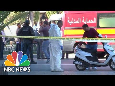 Suicide Bomber Launches Attack In Tunisia's Capital   NBC News