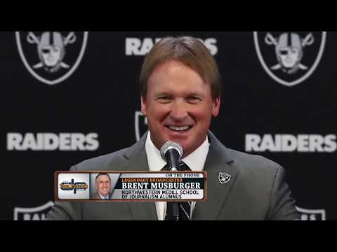 Brent Musburger on Landing Raiders Play-By-Play Gig; Team's Outlook | The Dan Patrick Show | 7/24/18