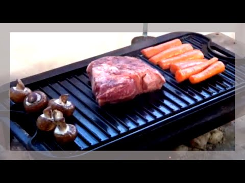 Our BEST TIPS For Using the Lodge Cast Iron Grill Griddle Combo