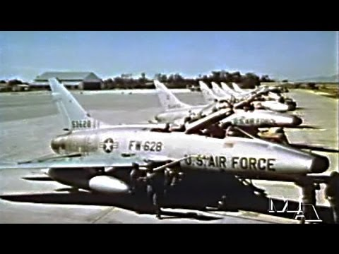 United States Air Force Operations in Vietnam 1967 - Restored Color