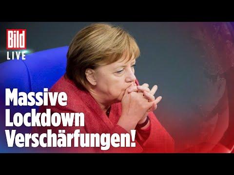 🔴 Corona: Jetzt will Merkel den Mega-Lockdown   BILD LIVE
