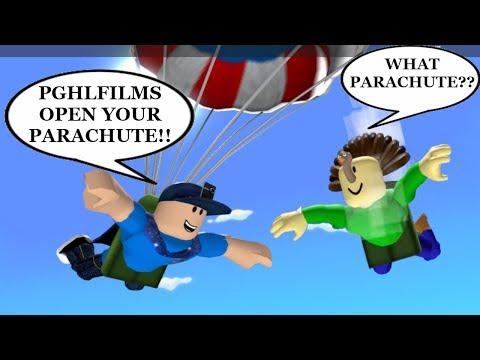 PghLFilms!!  PghLFilms!!  PghLFilms!! OPEN YOUR PARACHUTE!! | ROBLOX Adventure/Obby