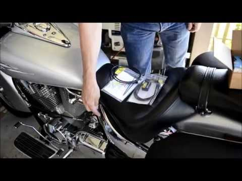 Honda VTX1300 SpeedoHealer Install
