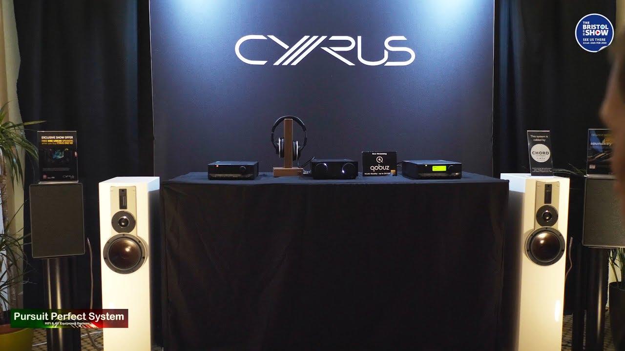 Cyrus NEW QXR DAC Upgrade Card Dali Rubicon 5 Chord Company Qobuz @ Bristol  HiFi Show 2019