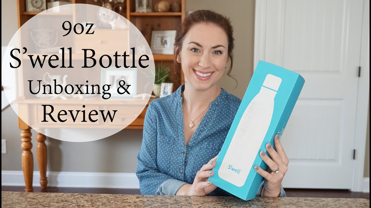 Review Amp Unboxing S Well 9oz Water Bottle In New Opal