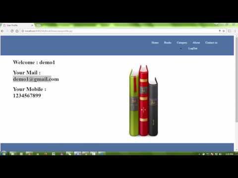 Online Book Store project in java - codebun