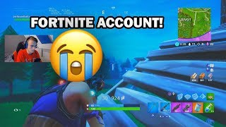 DO NOT WIN = REMOVE FORTNITE ACCOUNT! -Fortnite Challenge (English)