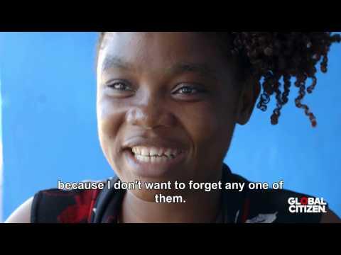 Ebola survivor cares for quarantined children in Liberia