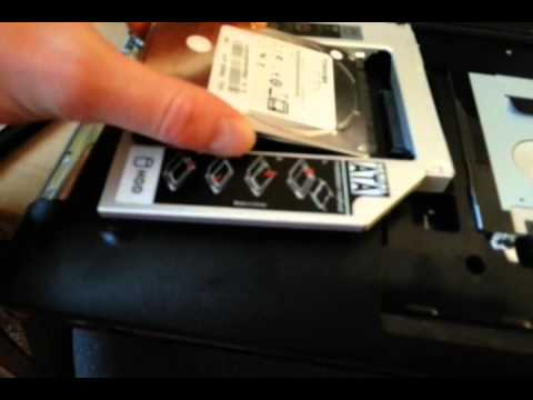 Инструкция по замене памяти, жесткого диска, WI-FI и DVD RW .