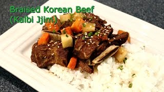 Braised Korean Beef (kalbi Jjim)