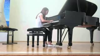 Nika klavir Split 2016 Bach