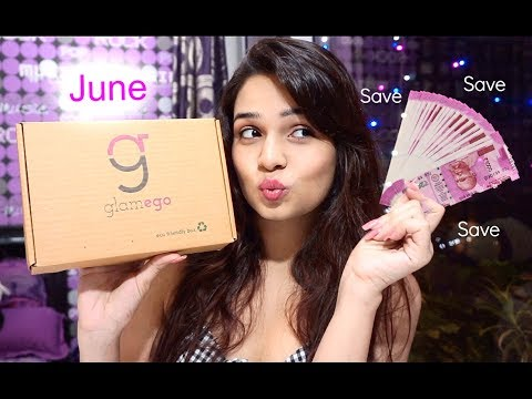 Glamego – June ( India's Most Affordable Subscription Beauty Box)
