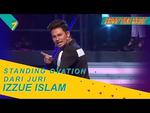 Lip Sync Spontan | Wow! Standing Ovation Dari Juri Untuk Izzue Islam!