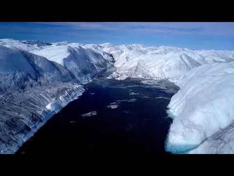 Greenland by Drone