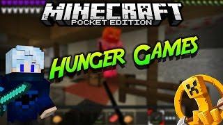 Minecraft PE: Hunger Games|#8 | GG Hacker!