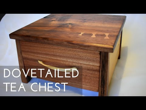 Dovetailed Tea Chest