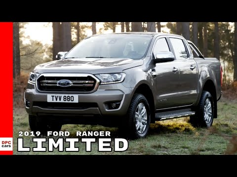2019 Ford Ranger Limited Truck