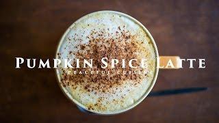 Pumpkin Spice Latte ☆ パンプキンスパイスラテの作り方
