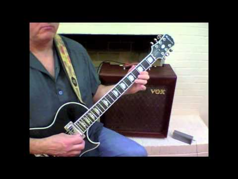 Steely Dan - Bodhisattva - solo part one - with guitar tablature