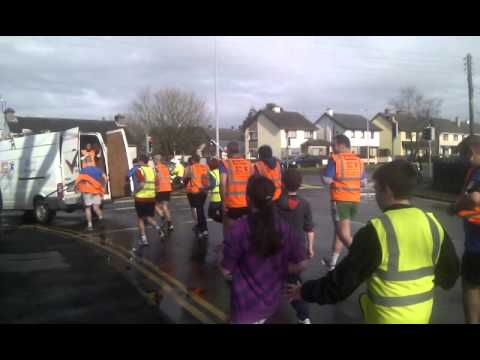 And theyre off again leaving Renmore Galway Rith 2012