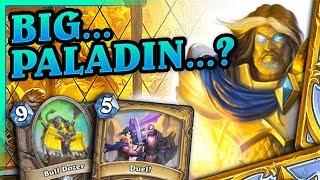 Big... Paladin...? - Big Paladin #6 by Tortue - Hearthstone Deck (Saviors of Uldum)