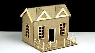 How To Make a Beautiful Cardboard House (with dimensions)