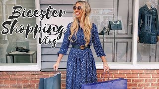 COME LUXURY SHOPPING WITH ME / BICESTER VILLAGE DESIGNER OUTLET HAUL NEW IN SPRING/SUMMER 2018 VLOG