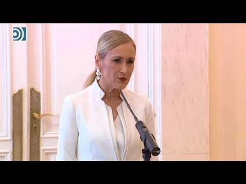 Cristina Cifuentes dimite como presidenta de la Comunidad de Madrid