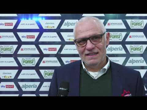 Bratislava-Trainer Peter Draisaitl nach dem Playoff-Aus in Bozen