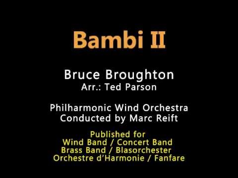 Marc Reift - Bambi II (Bruce Broughton, Arr.: Ted Parson)
