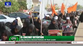 IMN Members Demand Release Of Leader, El Zakzaky From Detention