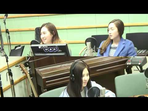 140312 SNSD Jessica Yuri SeoHyun KBS Cool FM Jo Jung chi n Harim 2 O'Clock Radio
