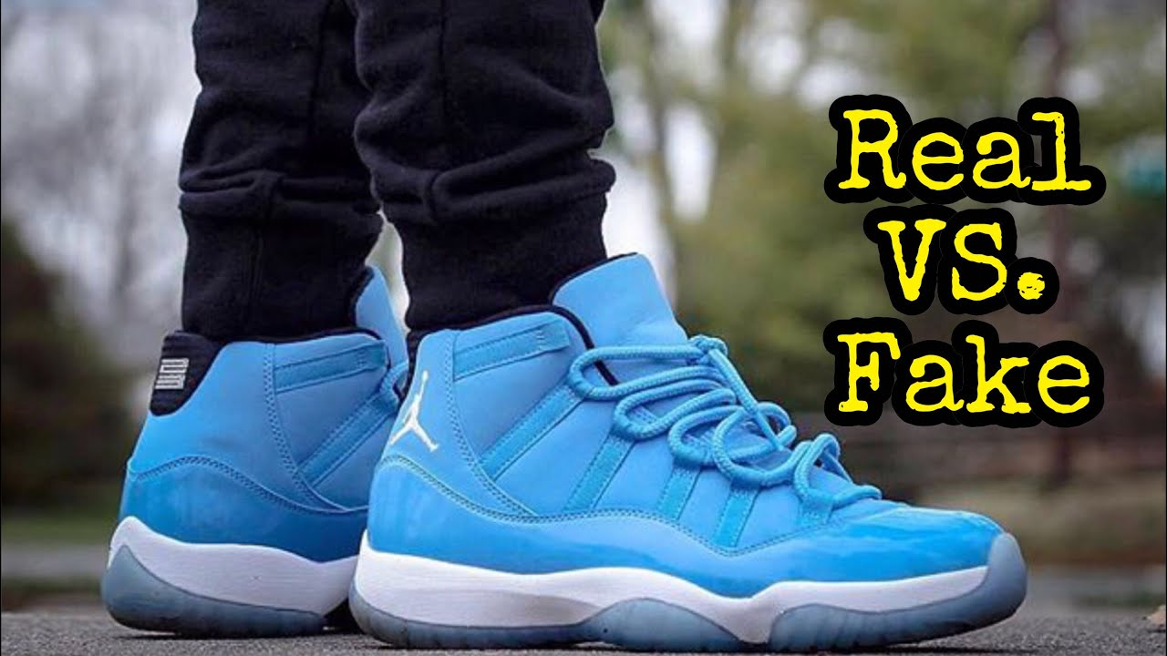 "super popular 869b4 90a4e BEST Real vs. Fake // Jordan 11 ""Pantone"""