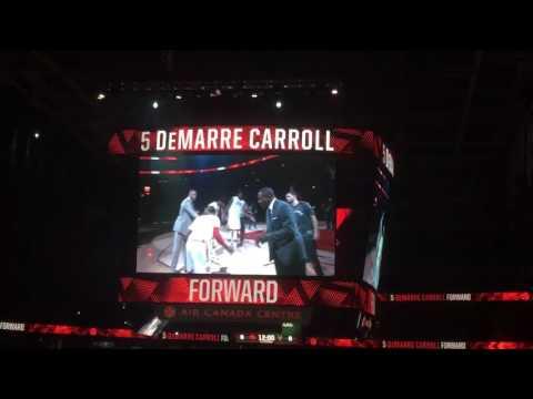 Air Canada Centre - Toronto Raptors Presentation