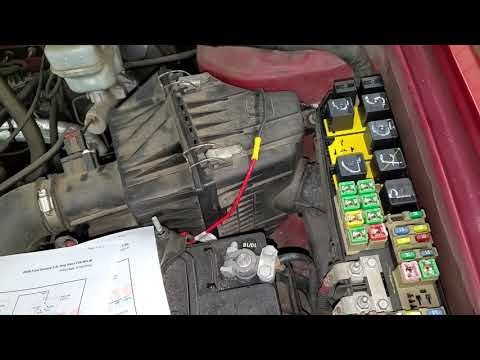 2005 Ford Escape Starter Relay & Fuse Location And Explanation