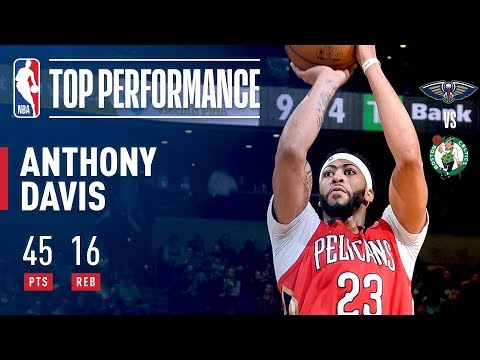 Anthony Davis Records SECOND STRAIGHT 45 Point Game