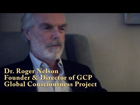 Dr Roger Nelson in documentary Wishing for Rain in New Mexico