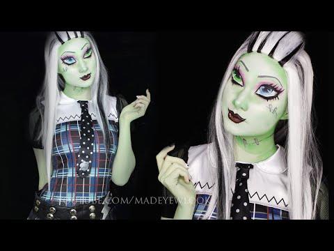 Frankie Stein Makeup Tutorial | Monster High