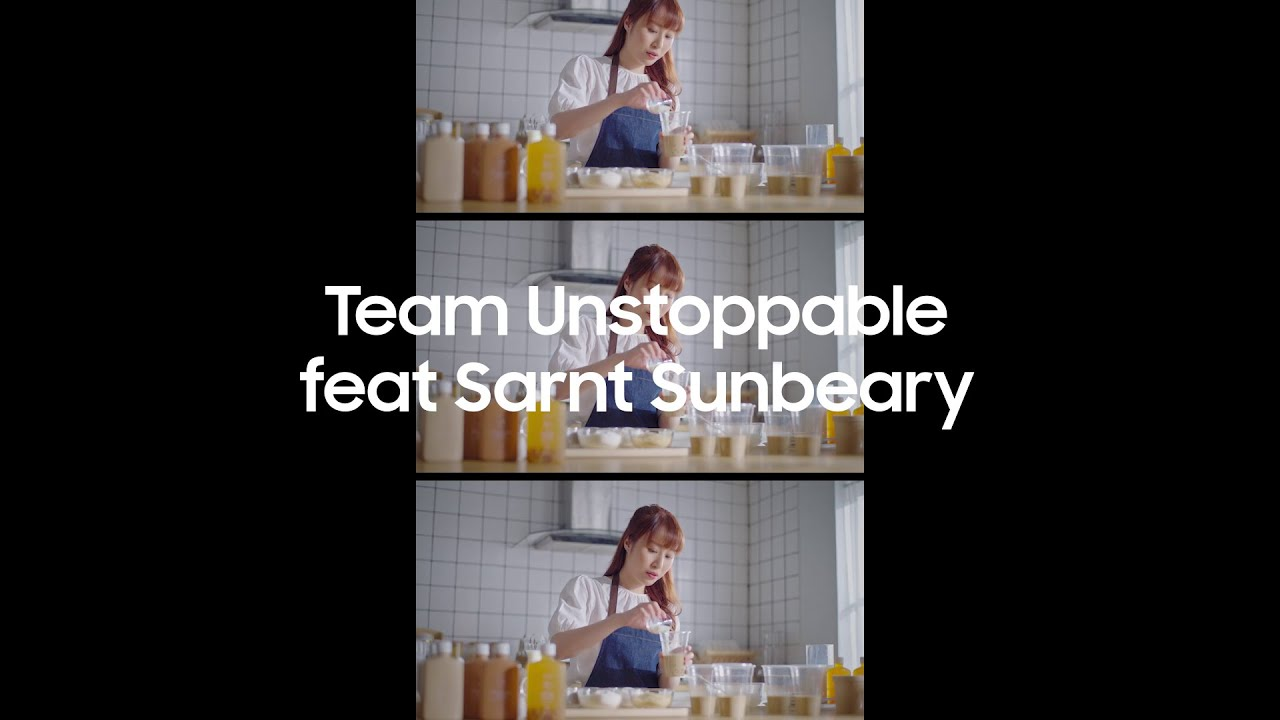 #TeamUnstoppable Thailand with Sarnt Sunbeary   Samsung