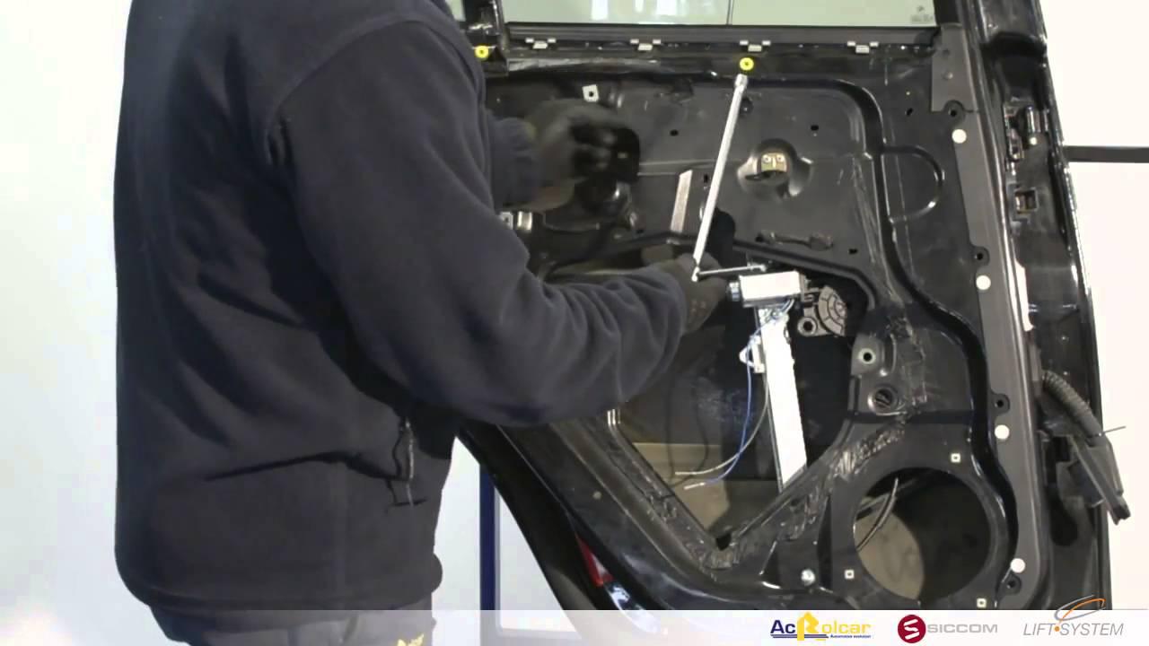 How To Fit Rear Window Regulators Bmw X5 E53