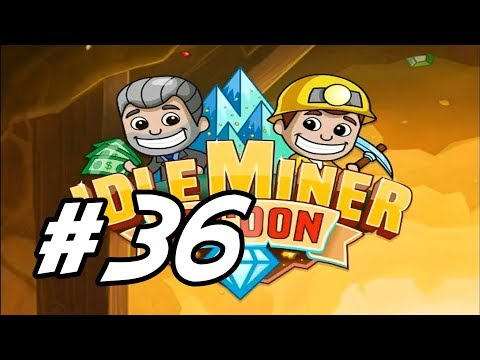 """Idle Miner Tycoon - 36 - """"Coal, Gold and Diamond Work"""""""