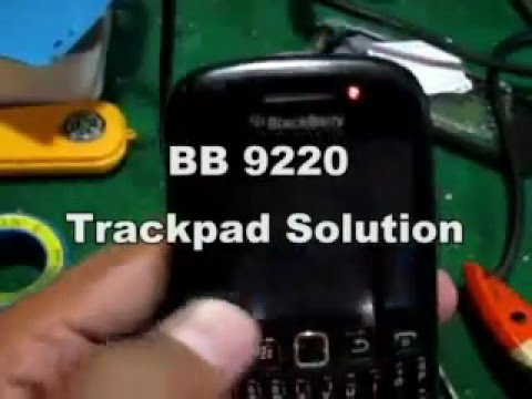 BB 9220 Trackpad Solution