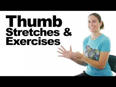 7 Thumb Joint (CMC) Stretches & Exercises