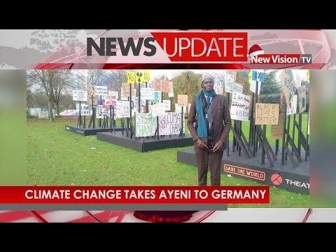 Climate change takes Ayeni to Germany