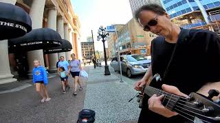 Burning down the street - Ultimate Talking heads tribute - You won't believe this massive solo jam!